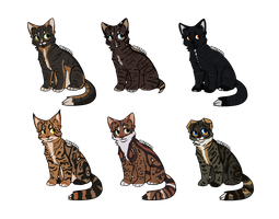 Cat Point Adoptables # 4 | CLOSED by SaintPumpkinMuffin