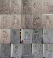 The Doodle Diaries 1 by lonesome-wolf-child