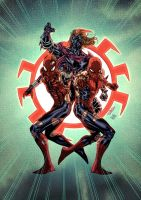 Spider Clone Trinity by Soul-the-Awkward