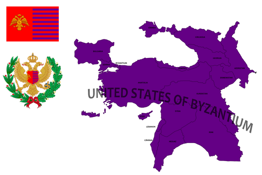 United states of Byzantium (mapping) by DimLordofFox