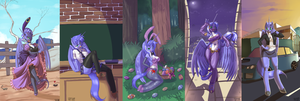 One mare, Five roles 2 by Siberwar