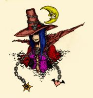 Coloured Spawn Witch by Polysics