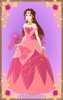 Pink Flower Princess by LadyAquanine73551