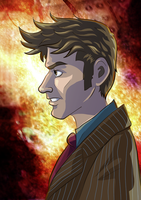 10th Doctor by novemberkris