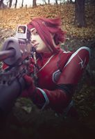 Code Geass. Kallen Kozuki. In the battle by Mellefuielle