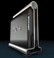 Playstation 4 Concept Final by Artificialproduction