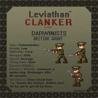 Gaming Clanker- Darwinist no.1 by charle88