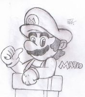 Mario by SuperGon-64