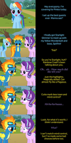 Rainbow Dash Says Goodnight by MLP-Silver-Quill