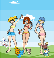 The Sexy PokeGirls by Artrookie--yup