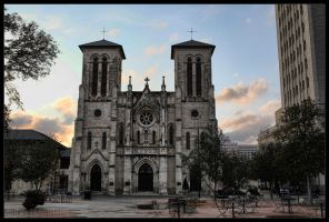 Cathedral of San Fernando by G0R3GA5M