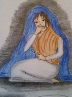 pregnant 'virgin' mary by Chabbie