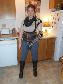 Furiosa Cosplay for Sakuracon 2017 (WIP) by Jagarnot