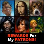 Rewards for my Patrons!!! by creaturedesign