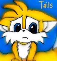 Tails by sonicandshadowfan
