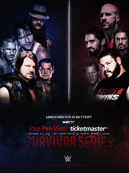 Smackdown VS Raw Survivor Series by WeeDyZz
