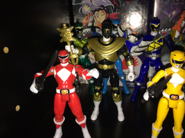 Power Rangers Toy Collection 014: Gold Ranger by AnutDraws