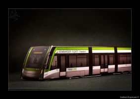 Bombardier Flexity Freedom (LRT) Cutout Model by AmbientExposures