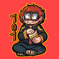 707 (On Redbubble) by Angry-Baby