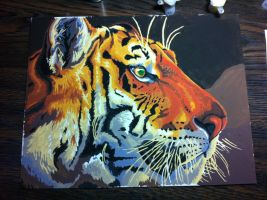 Tiger Painting by Georgekit