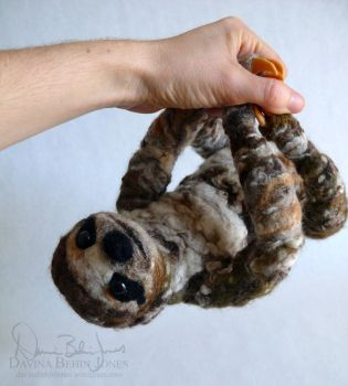 Sloth art project - photo#28