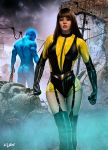 SILK SPECTRE - WATCHMEN by isikol