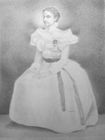 Drawing of a Young Girl by kolaboy