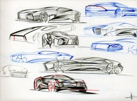 More random sketches. by fjagcars