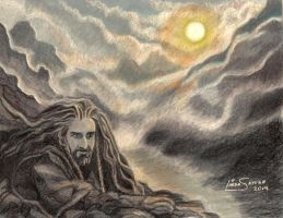 King under the Mountain by Artsy50