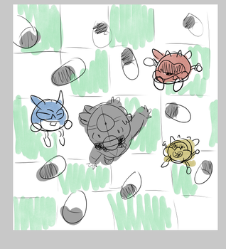 WIP Dr. Mario by WaywardDoodles