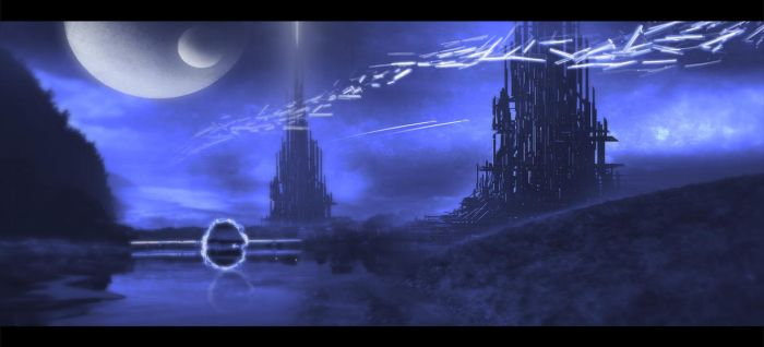 Matte Painting: Foreign Planet by 814200