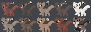 Faux adopts - 3 by Autumn-Adopts