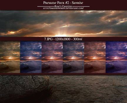 Premade Pack - Sunrise by dreamswoman