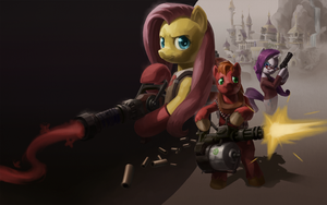 You're on Your Way to: CANTERLOT by stupjam