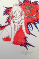 Love is over!! by ansem-the-dead