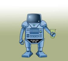 Walter the Wobot by JohnnyMc