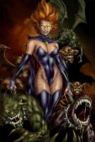Goblin queen colored -updated by alexasrosa