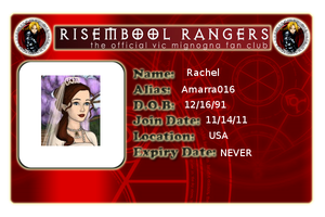 DA Ranger Card by Amarra016