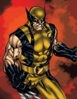 Wolverine - Mike Beals colors by SpiderGuile