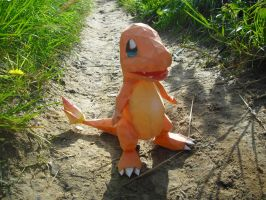 Charmander papercraft by TimBauer92