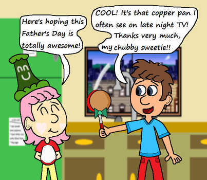 One Totally Awesome gift for a Totally Awesome Dad by BaconBaka