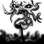 Cthulhu appears by JeffVenture