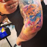 Sailor Moon tattoo by OrgelFantasia