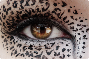 Eye of the leopard. by Leinzel