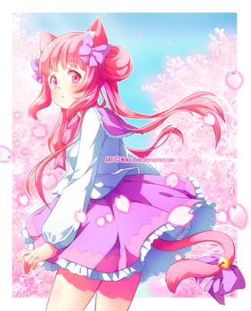 [Speedpaint] AT with PuffyPrincess by Neko-Rina