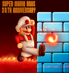 Super Mario Bros 30th Anniversary! by MGZE