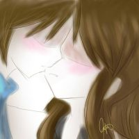 CS.AS: Leaning closer by BlueMae98