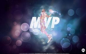 Kevin Durant All Star MVP Wallpaper by IshaanMishra