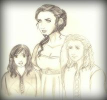 Lady Dis and her young sons by EPH-SAN1634