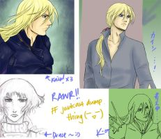 FF art dump by Krizy